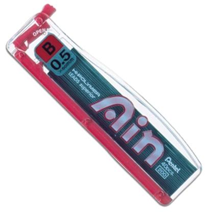 รูปภาพของ ไส้ดินสอ เพนเทล ไฮโพลิเมอร์ Ain C255 0.5 มม. B (หลอด40ไส้)