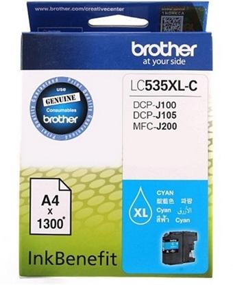 รูปภาพของ หมึกอิงค์เจ็ท BROTHER LC-535XL-C