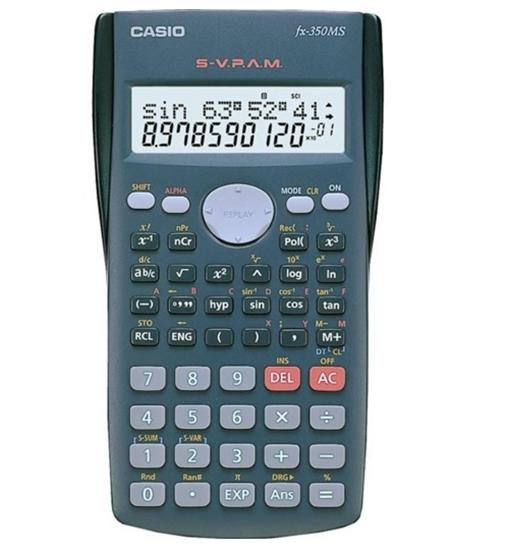 รูปภาพของ เครื่องคิดเลขวิทยาศาสตร์ คาสิโอ FX-350MS