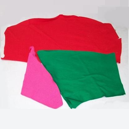 รูปภาพของ เศษผ้าคอตตอนคละสี ขนาด A4 (แพ็ค 25 กิโลกรัม)