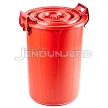 รูปภาพของ ถังเก็บน้ำพร้อมฝาปิดหูล็อก 75 ลิตร 20GLB สีแดง