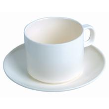 รูปภาพของ ชุดถ้วยกาแฟพร้อมจานรอง ครีม บาสเก็ต 255+AS