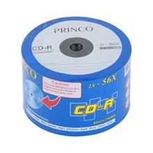 แผ่น CD DVD และอุปกรณ์จัดเก็บ แผ่น CD-R PRINCO 700 MB 56X (แพ็ค 50 แผ่น) PRINCO