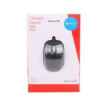 รูปภาพของ เม้าส์ไมโครซอฟ Compact Optical Mouse Black (U81-00012)