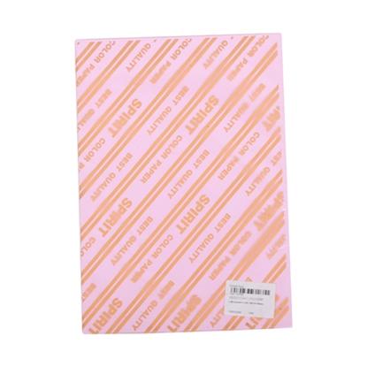 รูปภาพของ กระดาษสีถ่ายเอกสาร 120/180 A4 สีชมพู