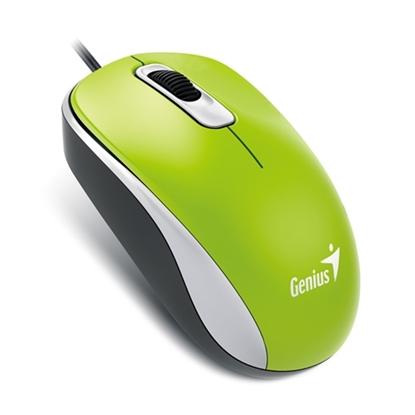รูปภาพของ เม้าส์ออฟติคัล Genius DX-110 (สีเขียว)