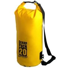 รูปภาพของ กระเป๋ากันน้ำ Ocean Pack 20 ลิตร สีเหลือง