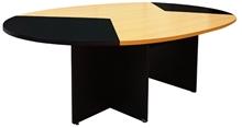 รูปภาพของ โต๊ะประชุม โมโน TO-280 เชอร์รี่/ดำ
