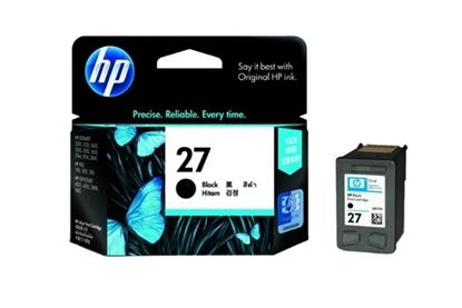 รูปภาพของ ตลับหมึกอิงค์เจ็ท Inkjet Cartridge HP27 (C8727A) ดำ