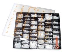 """รูปภาพของ ชุดอักษรพลาสติก ฟูจิ TW-10 ภาษาไทย 1"""" ขาว (ชุด 1200 ตัว)"""