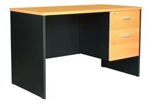 รูปภาพของ โต๊ะทำงาน โมโน TWC 1202-60(F)เชอร์รี่/ดำ