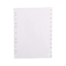 รูปภาพของ อินเด็กซ์กระดาษการ์ดขาว ใบโพธิ์ ชนิด ม.ค-ธ.ค A4