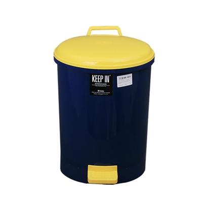 รูปภาพของ ถังขยะพลาสติก สแตนดาร์ด RW9085 (18 ลิตร) สีน้ำเงิน ทรงกลม