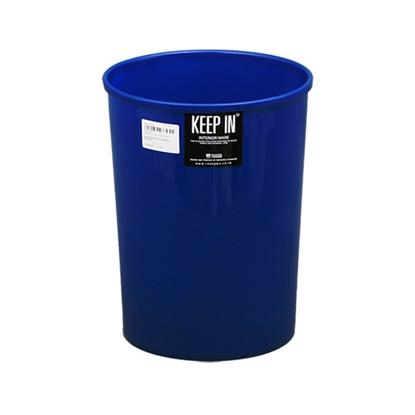 รูปภาพของ ถังขยะกลมไม่มีฝา สแตนดาร์ด RW9074 (12 ลิตร) คละสี