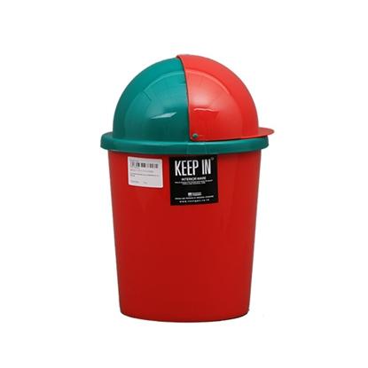 รูปภาพของ ถังขยะกลมสเปซแค็ป สแตนดาร์ด RW9072/72 (5 ลิตร) คละสี