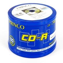 รูปภาพของ แผ่น CD-R PRINCO Printable 56X (แพ็ค 50 แผ่น)