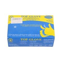 รูปภาพของ ถุงมือแพทย์มีแป้ง TOP GLOVE Size M (กล่อง 50 คู่)