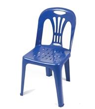 รูปภาพของ เก้าอี้พลาสติกอเนกประสงค์ APEX รุ่น หยก (เกรด A) สีฟ้า