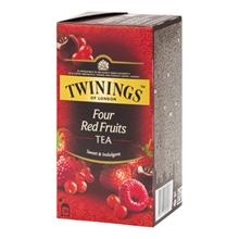 รูปภาพของ ชาอังกฤษ 2 กรัม (กล่อง25ซอง) ทไวนิงส์ Four Red Fruits