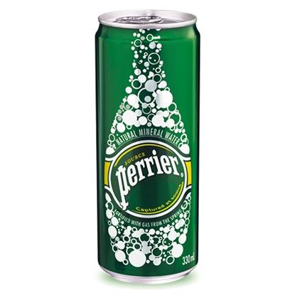 รูปภาพของ น้ำแร่ Perrier 330 มล. (1X24 กระป๋อง)