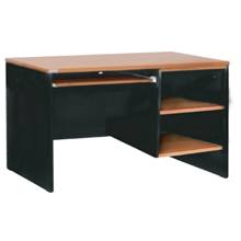 รูปภาพของ โต๊ะทำงาน โมโน WCTC 120-60(F) เชอร์รี่/ดำ