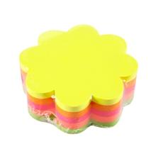 รูปภาพของ กระดาษโน้ต สติก เอ็น 21357 6.7 ซม.ดอกไม้คละสี (5สี)