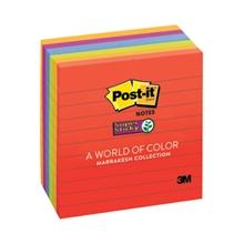 รูปภาพของ Post-it ซุปเปอร์ สติ๊กกี้ โน้ต 3M 675-6ssan 4x4 นิ้ว (แพ็ค 6 เล่ม)