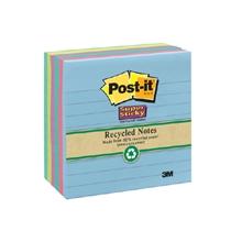 รูปภาพของ Post-it ซุปเปอร์ สติ๊กกี้ โน้ต 3M 675-6sst 4x4 นิ้ว (แพ็ค 6 เล่ม)