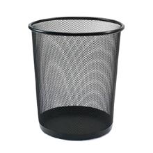 รูปภาพของ ถังขยะกลมฝาเปิด ออร์ก้า H-9662L ขนาดใหญ่(29.5 x 29.5 x 34.7 ซม.) สีดำ