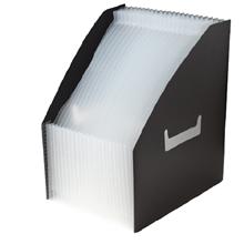 รูปภาพของ กล่องเอกสารพลาสติก ไบน์เดอร์แม็กซ์ 01018 สีดำ