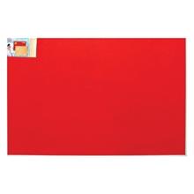 รูปภาพของ บอร์ดปิดประกาศกำมะหยี่ ขอบอะลูมิเนียม โรบิน 60 x 90 ซม. แดง