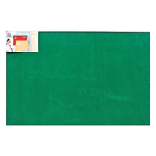 รูปภาพของ บอร์ดปิดประกาศกำมะหยี่ ขอบอะลูมิเนียม โรบิน 60 x 90 ซม. เขียว