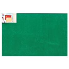 รูปภาพของ บอร์ดปิดประกาศกำมะหยี่ ขอบอะลูมิเนียม โรบิน 80 x 120 ซม. เขียว