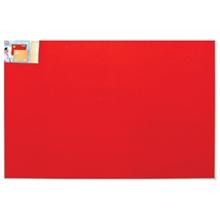 รูปภาพของ บอร์ดปิดประกาศกำมะหยี่ ขอบอะลูมิเนียม โรบิน 90 x 180 ซม. แดง