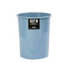รูปภาพของ ถังขยะกลมไม่มีฝา สแตนดาร์ด RW9073 (8 ลิตร) สีฟ้า