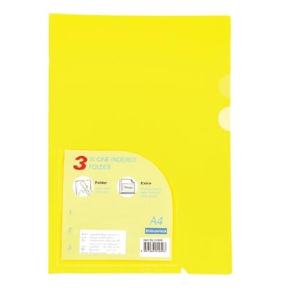 รูปภาพของ แฟ้มซอง ไบน์เดอร์แม็กซ์ 01049 A4 สีเหลือง
