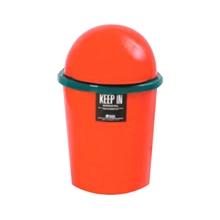 รูปภาพของ ถังขยะกลมสเปซแค็ป สแตนดาร์ด RW9072/72 (5 ลิตร) สีแดง