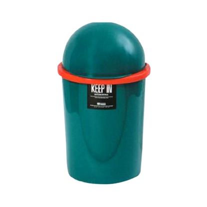 รูปภาพของ ถังขยะกลมสเปซแค็ป สแตนดาร์ด RW9073/73 (8 ลิตร) สีเขียว