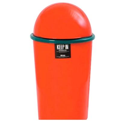 รูปภาพของ ถังขยะกลมสเปซแค็ป สแตนดาร์ด RW9075/75 (20 ลิตร) สีแดง
