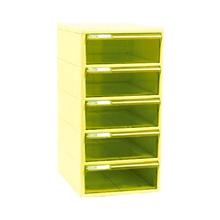 รูปภาพของ ตู้เอกสาร ออร์ก้า TCB-5BB 5 ชั้น โครงเหลืองลิ้นชักเหลือง ออร์ก้า