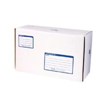 รูปภาพของ กล่องไปรษณีย์ Size B 17x25x9 ซม. พิมพ์สีน้ำเงิน (แพ็ค 2 ใบ)