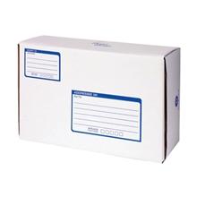 รูปภาพของ กล่องไปรษณีย์ Size D 22x35x14 ซม. พิมพ์สีน้ำเงิน (แพ็ค 2 ใบ)