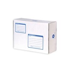 รูปภาพของ กล่องไปรษณีย์ Size A 14x20x6 ซม. พิมพ์สีน้ำเงิน (แพ็ค 2 ใบ)