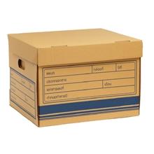 รูปภาพของ กล่องเก็บเอกสาร RR กระดาษคราฟท์ KA ขนาด 38X43X30 ซม. (แพ็ค 2 ใบ)