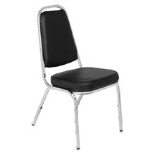 รูปภาพของ เก้าอี้เอนกประสงค์ ชนิดหุ้มเบาะรองนั่ง Apex APW-001 สีดำ