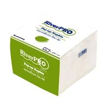 รูปภาพของ กระดาษเช็ดปาก Pop-Up RiverPro 200 แผ่น แพ็ค 12 ห่อ