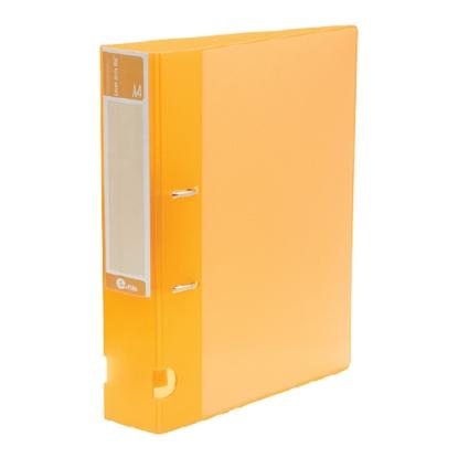 รูปภาพของ แฟ้มสันกว้าง อี-ไฟล์ 43A ขนาด A4 สัน 3 นิ้ว สีส้ม