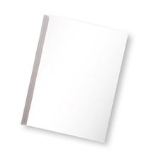 รูปภาพของ แฟ้มสันรูด ออร์ก้า 101 5 มิลลิเมตร สีขาวใส (แพ็ค 12 เล่ม)