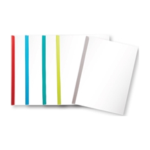รูปภาพของ แฟ้มสันรูดออร์ก้า 5 มิลลิเมตร คละสีใส (แพ็ค 12 เล่ม)