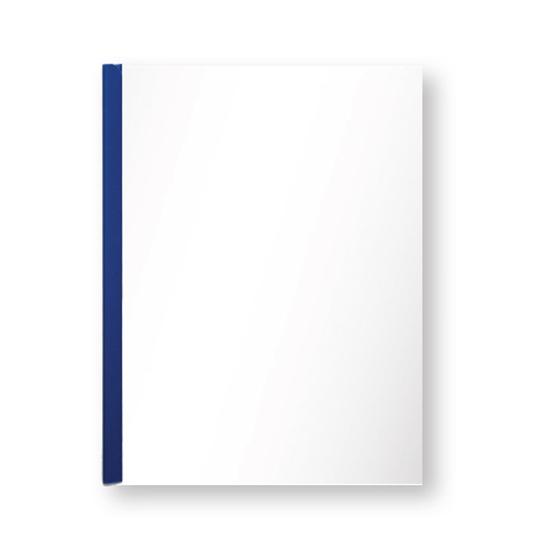 รูปภาพของ แฟ้มสันรูด ออร์ก้า 302 5 มิลลิเมตร สีน้ำเงินทึบ (แพ็ค 12 เล่ม)